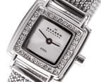 Skagen Women's Square Mesh Watch - Silver Tone 2