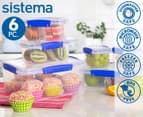 Sistema Klip It Food Storage Container 6-Piece Set 1