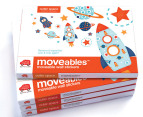 Little Chipipi Moveables Mini Wall Stickers - Outer Space 3