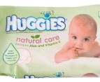 3 x Huggies Natural Care Wipes 64-Pack 2