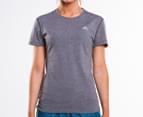 Adidas Women's Ultimate Short Sleeve Tee - Dark Grey 1