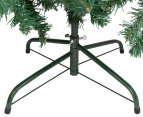 Artificial 2.1m Olive Green Christmas Tree & Ornament Pack  3