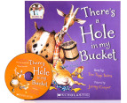There's A Hole In My Bucket Paperback Book & CD 4