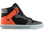 Supra Men's Vaider - Charcoal/Black/Orange 2
