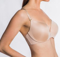 Fine Lines 'Blessed' 3-Way Convertible Plunge Bra - Skin - 18D 4