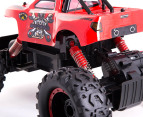 RC RockCrawler King 4 Wheel Drive Truck - Red 4