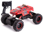 RC RockCrawler King 4 Wheel Drive Truck - Red 1