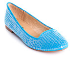 I Love Billy Size EU 36 Bullie Flats - Blue 4