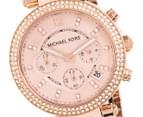 Michael Kors Women's Tortoise Rose Gold Watch 2