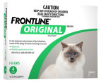3 x Frontline Original for Cats 4pk 3
