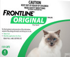 3 x Frontline Original for Cats 4pk 2