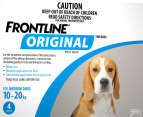 3 x Frontline Original Medium Dog 10-20kg 2