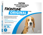 3 x Frontline Original Medium Dog 10-20kg 3