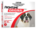 3 x Frontline Original Extra Large Dog 40-60kg 4