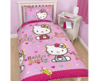Hello Kitty - Single Quilt Cover Set 2