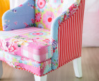 Deluxe Patchwork Boho Armchair - Gypsy Flair 3