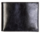 Calvin Klein Smooth Billfold Wallet - Black 4
