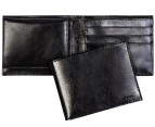 Calvin Klein Smooth Billfold Wallet - Black 1
