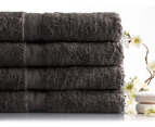 Sheridan Ryan 630GSM Bath Towels 4-Pack - Clove 4