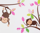Monkeys In A Tree Wall Decal/Sticker 3