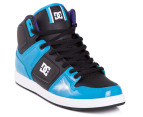 DC Men's Factory Lite High Shoe - Turquoise/Black 4