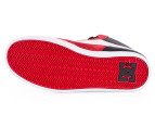 DC Men's Landau High Unrestricted Shoe - Red/Black 3