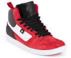 DC Men's Landau High Unrestricted Shoe - Red/Black 4