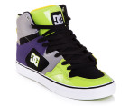 DC Men's Pro Spec 3.0 TX Shoe - Black/Soft Lime 2
