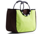 Easy Insulated Fold-Flat Shopping Tote - Green 5