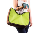 Easy Insulated Fold-Flat Shopping Tote - Green 3