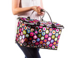 Easy Insulated Collapsible Shopping Carrier - Retro 5