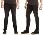 Men's Wrangler Slinger Drop Crotch Jeans - Midnight 1