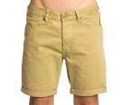 Wrangler Men's Sharp Shooter Herringbone Shorts - Stone 1