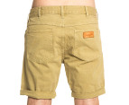 Wrangler Men's Sharp Shooter Herringbone Shorts - Stone 3
