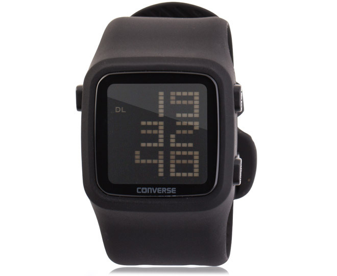 a83dd9489e0aa8 Converse Scoreboard Digital Watch - Black