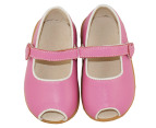 Cheeky Little Soles Girls' Isabel Walker - Hot Pink/White 4