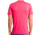 Rusty Men's Tee Life Tee - Red Heather  3