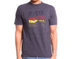 Rusty Men's Board Co. Tee - Charcoal Heather 1