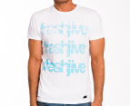 Freshjive Men's Cracked Tee - Off-White 1