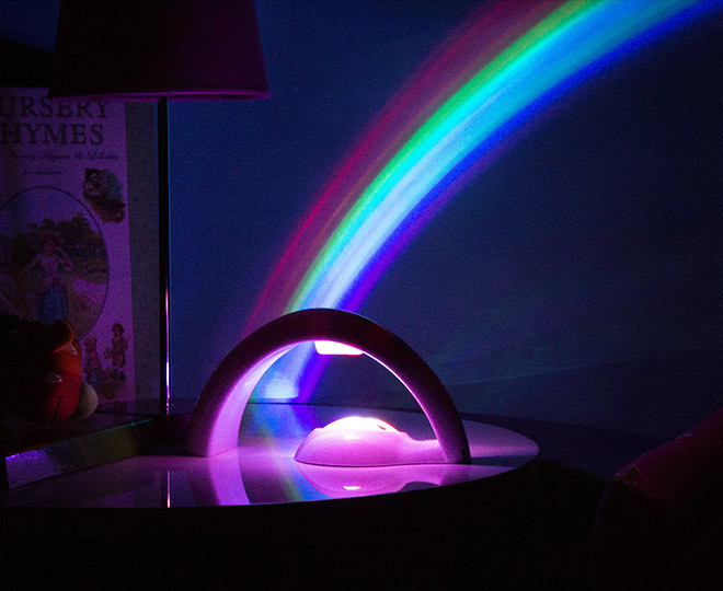 Rainbow Night Time Light Projector Ebay