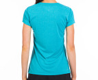 New Balance Women's Heather Tech Tee - Capri Breeze 3