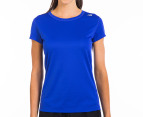 New Balance Women's Go 2 Short Sleeve Tee - Azurite 1