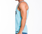 Freshjive Men's League Tank - Turqoise 2