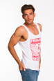 Freshjive Men's Cali Tank - Off White 4