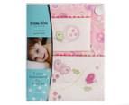 Bubba Blue Butterfly Garden Cot Sheet Set - Pink 1