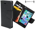 Press Play PocketFolio Wallet Case for iPhone 5/5S - Black 1