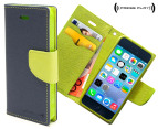 Press Play PocketFolio Wallet Case for iPhone 5/5S - Nvy/Lme 1