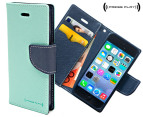 Press Play PocketFolio Wallet Case for iPhone 5/5S - Mnt/Nvy 1