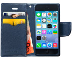 Press Play PocketFolio Wallet Case for iPhone 5/5S - Mnt/Nvy 3