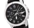 Fossil Men's Grant Watch - Black 2